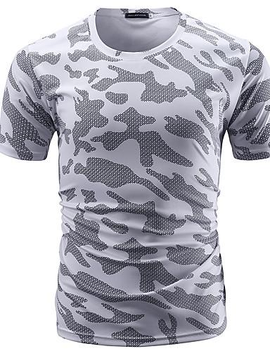 Bărbați Tricou De Bază - camuflaj