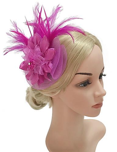 Fornitura Per Donna Kentucky Derby Floreale,vintage Elegante Zircone Cubico Cappelli Mollette-tessuto Tinta Unita - Per Tutte Le Stagioni #06764054 Possedere Sapori Cinesi