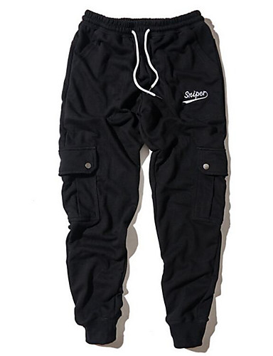 Bărbați Afacere Pantaloni Sport Pantaloni Mată