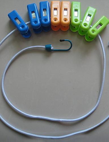 Cârlige Pliabil / Elastic Modern Plastic 1 buc - Unelte Decorarea băii