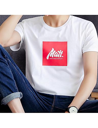 Bărbați Tricou De Bază - Mată / Scrisă