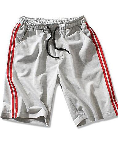 Bărbați Activ Pantaloni Scurți Pantaloni Dungi