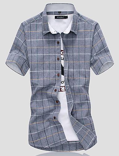 Majica Muškarci Dnevno Geometrijski oblici