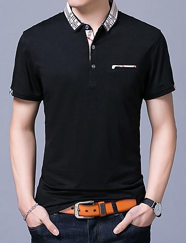 Majica s rukavima Muškarci Dnevno Jednobojni / Kratkih rukava