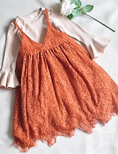 Dijete Djevojčice Osnovni Jednobojni Dugih rukava Komplet odjeće / Dijete koje je tek prohodalo