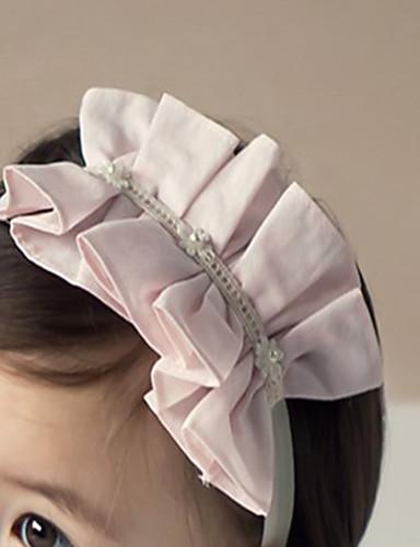 Costruttivo Bambino (1-4 Anni) Da Ragazza Attivo Quotidiano - Per Uscire Floreale Chiffon Accessori Per Capelli Rosa Taglia Unica - Cerchietti #06793503
