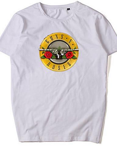 Majica s rukavima Muškarci Dnevno Geometrijski oblici / Slovo