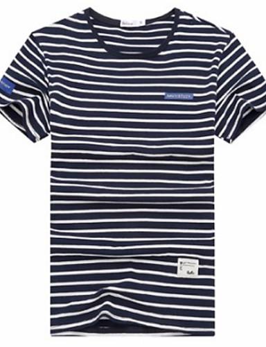 Majica s rukavima Muškarci - Osnovni Dnevno Prugasti uzorak