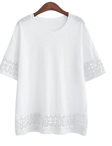 Majica s rukavima Žene Dnevno Geometrijski oblici