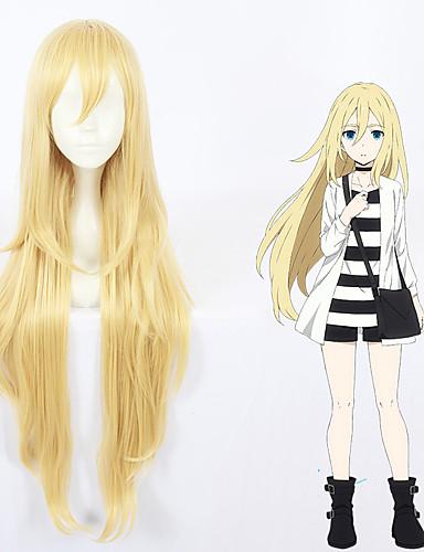voordelige Cosplay Pruiken-Angels of Death Rachel Gardner straal Cosplaypruiken Allemaal 40 inch(es) Hittebestendige vezel Blond Anime