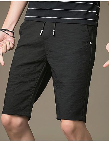 Muškarci Osnovni Kratke hlače Hlače Jednobojni