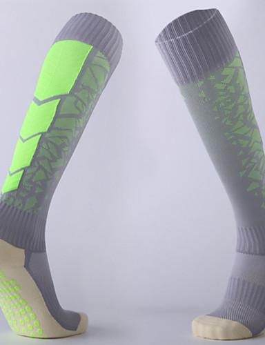cheap Cycling Clothing-Compression Socks Sport Socks / Athletic Socks Cycling Socks Men's Bike / Cycling Cycling Fitness, Running & Yoga Anti-skidding / Non-Skid / Antiskid 1 Pair Winter Yarn Dyed Cotton Chinlon Black