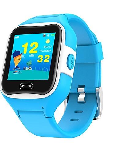 billige Udsalg-SMA M2 Kids Barneklokker Android iOS Bluetooth GPS Sport Pekeskjerm Lang Standby Håndfri bruk Samtalepåminnelse Aktivitetsmonitor Finn min enhet / GSM(850/900/1800/1900MHz) / Tyngekraftsensor