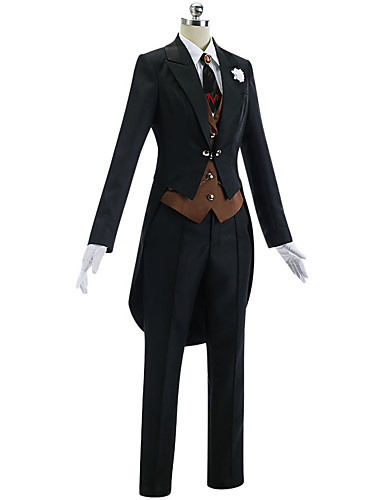 cheap Cosplay & Costumes-Inspired by Fate / Zero Mordred Anime Cosplay Costumes Japanese Cosplay Suits Simple Coat / Vest / Shirt For Women's / Headwear