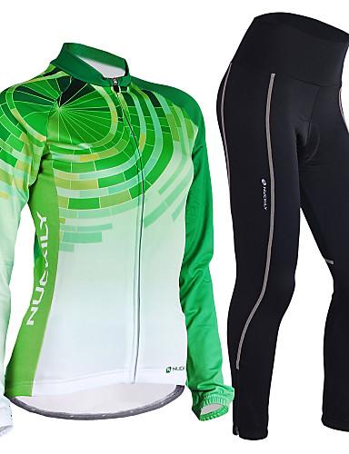 117 Nuckily Men/'s Mountain Bike Anti-UV Cycling Jersey and Tights Pants Long Set