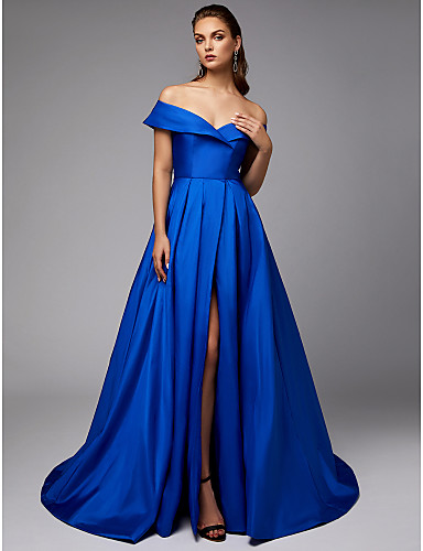 7d6de2a7cd2 cheap Prom Dresses-Jenny Packham Style Ball Gown Off Shoulder Chapel Train  Taffeta Formal Evening