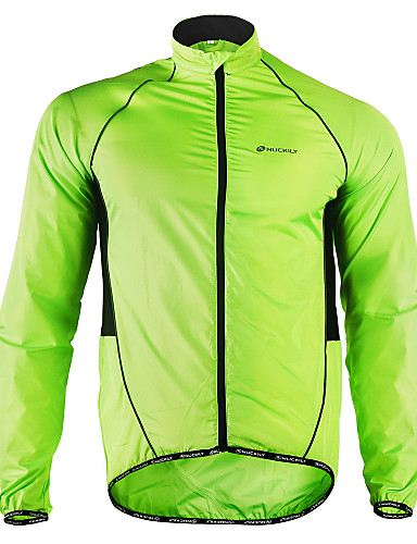 cheap Cycling Jackets-Nuckily Men's Cycling Jacket Bike Jacket Windbreaker Raincoat Waterproof Windproof Breathable Sports Polyester Winter Green Mountain Bike MTB Road Bike Cycling Clothing Apparel Advanced Relaxed Fit
