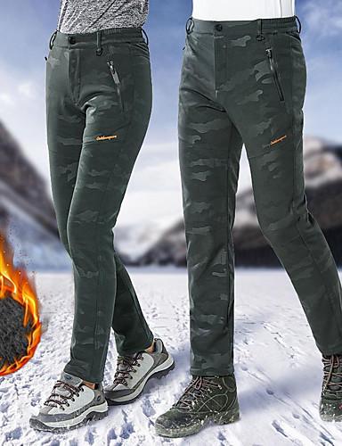 abordables Esquí y Snowboard-Hombre Pantalones de Esquí Impermeable Mantiene abrigado Resistente al Viento Esquí Camping y senderismo Snowboard POLY Elastán Pantalones / Sobrepantalón Ropa de Esquí / Invierno