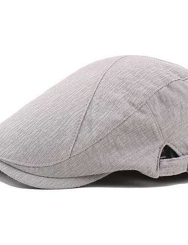 رخيصةأون أسعار تصل إلى 9.99$-قبعة قلنسوة لون سادة رجالي أساسي