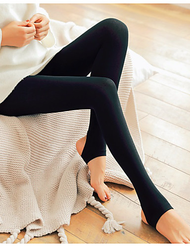 a289193290c87 Women's Daily Basic Legging - Solid Colored Mid Waist