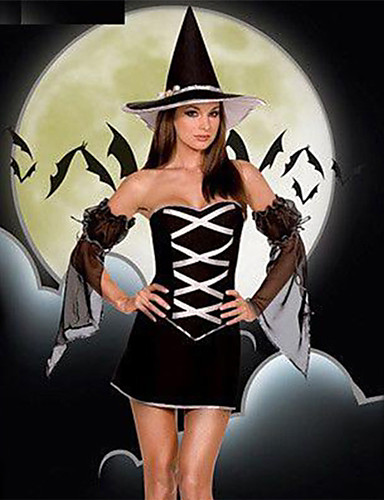 Witch Uniforms Cosplay Costume Party Costume Costume Fancy Costume Adults   Highschool Women s Cosplay Halloween Halloween Carnival Masquerade Festival  ... 80dcb05325