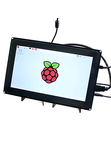 billige Raspberry Pi-waveshare 10.1inch hdmi lcd (h) (med etui) 1024x600