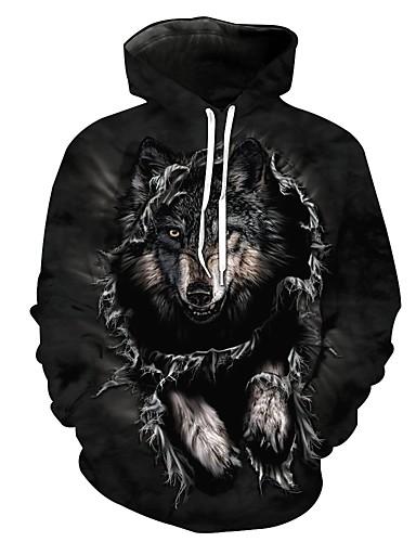 povoljno Anime kostimi-Spice and Wolf Sa životinjama Bluza / Shirt Hoodie Polyster Anime Za Uniseks