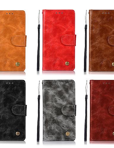 Θήκη Za Lenovo Lenovo K8 Note / Lenovo K6 Note / Lenovo K6 Novčanik / Utor za kartice / sa stalkom Korice Jednobojni Tvrdo PU koža