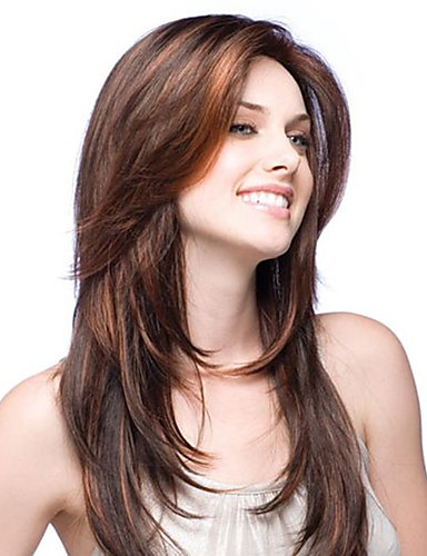 cheap Human Hair Wigs-premierwigs 8a 8-26inch layered straight brazilian virgin glueless full lace human hair wigs glueless lace front wigs
