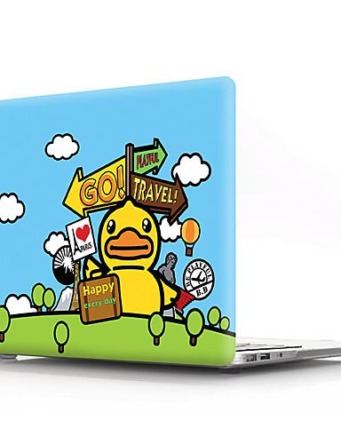 MacBook Slučaj Životinja / Crtani film PVC za MacBook Pro 13