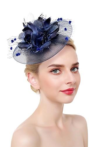 abordables Chapeau & coiffure-Plumes / Filet Fascinators / Coiffe avec Plume 1 Pièce Mariage / Occasion spéciale Casque