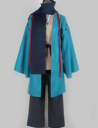 voordelige Cosplay & Kostuums-geinspireerd door Nurarihyon's kleinzoon Kubinashi Anime Cosplaykostuums Cosplay Kostuums Effen Jas / Top / Broeken Voor Heren / Dames