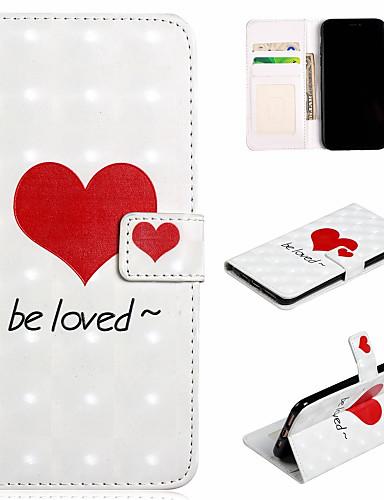 Θήκη Za Apple iPhone XS / iPhone XR / iPhone XS Max Novčanik / Utor za kartice / sa stalkom Korice Srce Tvrdo PU koža
