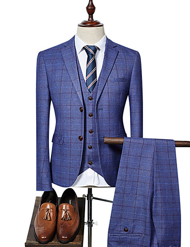 2075a3b2cf498 Men s Party   Work Business Spring   Fall Regular Suits