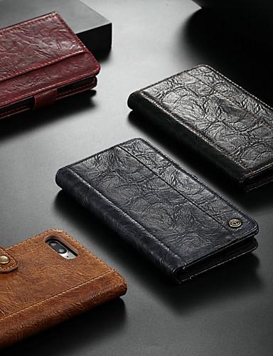 Θήκη Za Apple iPhone XS / iPhone X Novčanik / Utor za kartice / sa stalkom Korice Jednobojni Tvrdo PU koža