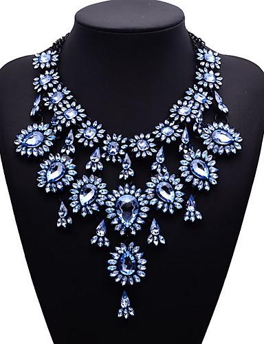 رخيصةأون مجوهرات الموضة-قلادة نسائي سبيكة, أوروبي / موضة / المتضخم