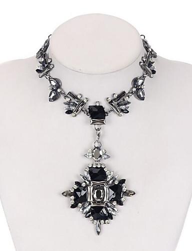 رخيصةأون مجوهرات الموضة-قلادة قوس قزح نسائي موضة / غني بالألوان
