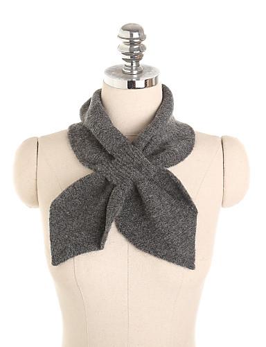 billige Brudesjaler-Uden ærmer Akryl Bryllup / Fest / aften Wraps til damer / Halstørklæder til kvinder Med Kryds & Tværs / Solid Sjaler / Halstørklæder