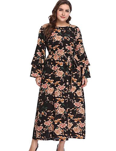 dca5e0c67958 Women s Daily Slim Shift Dress - Geometric Print Green Black XXXL XXXXL  XXXXXL