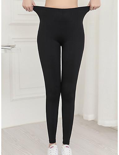 c6ac72d2c93022 Women's Basic Legging - Solid Colored Mid Waist
