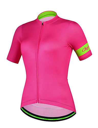 cheap Cycling Clothing-cheji® Women's Short Sleeve Cycling Jersey - Purple Pink Dark Pink Bike Jersey Top Breathable Sports Other Mountain Bike MTB Road Bike Cycling Clothing Apparel / High Elasticity