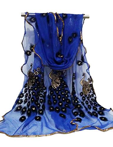 abordables Accessoires Femme-Femme Basique / Le style mignon Foulard Rectangulaire Fleur