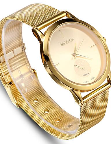 af514274ad03 Women's Sport Watch Dress Watch Wrist Watch Quartz Stainless Steel Black /  Silver / Gold Casual Watch Analog Fashion Word Watch - Silver Golden Rose  Gold ...