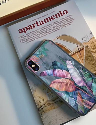 Etui Käyttötarkoitus Apple iPhone XS / iPhone XR / iPhone XS Max Kuvio Takakuori Kasvit Kova TPU