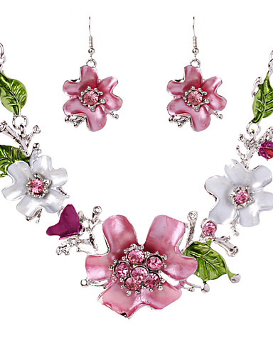 Per donna Essenziale Elegante Lega Fantasia floreale