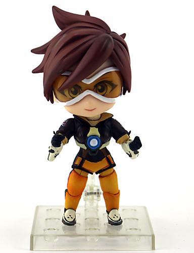 billige Anime cosplay-Anime Action Figurer Inspirert av Watch Cosplay PVC 10 cm CM Modell Leker Dukke