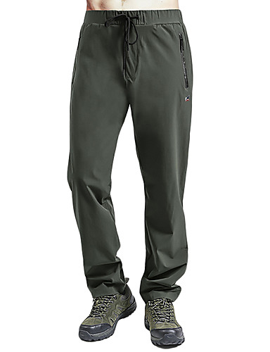 cheap Hiking Trousers & Shorts-Men's Hiking Pants Outdoor Lightweight Breathable Quick Dry High Strength Spring Summer Pants / Trousers Bottoms Camping / Hiking Hunting Climbing Black Army Green Dark Navy 4XL 5XL 6XL