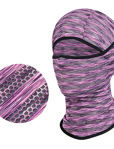 cheap Cycling Clothing-Wheel up Balaclava Thermal / Warm Breathable Bike / Cycling Red and White Violet Grey Spandex Winter for Men's Women's Adults' Running Bike / Cycling Solid Colored / Road Bike Cycling