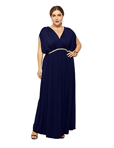 97945fe0c59c Γυναικεία Βασικό T Shirt Φόρεμα - Μονόχρωμο