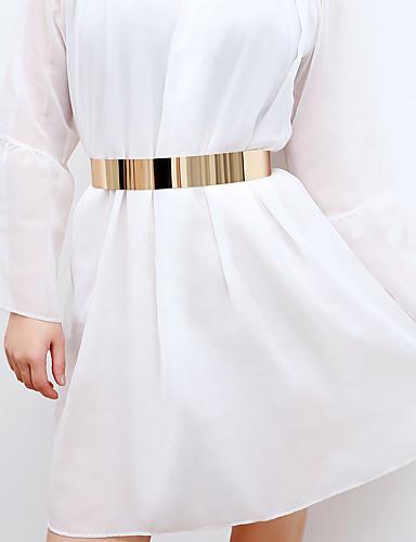 cheap Women's Belt-Women's Basic Waist Belt - Solid Colored